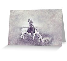 Indian Chief 7 Greeting Card