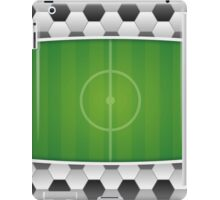 Geometric Sports Lover Soccer Stadium iPad Case/Skin