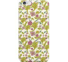 Flowers in cream iPhone Case/Skin