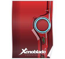 Crimson Monado - Xenoblade Poster