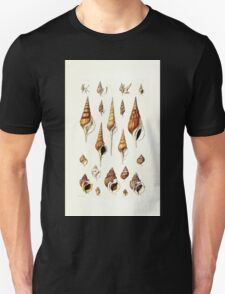 Thesaurus conchyliorum Monographs of genera of shells George Brettingham Sowerby 1887 V1-V5 005 Unisex T-Shirt