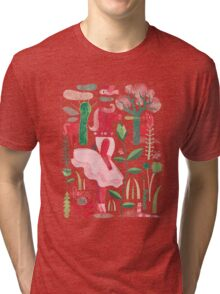 Horses are red Tri-blend T-Shirt