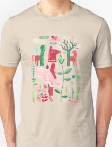 Horses are red Unisex T-Shirt