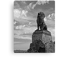 Lion on Grotto Hill 2 Canvas Print