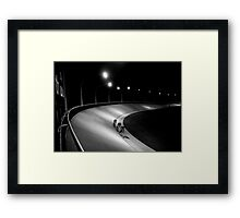 concrete_only 03 Framed Print