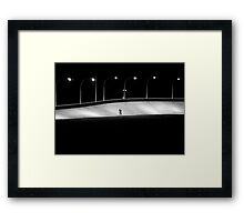 concrete_only 02 Framed Print