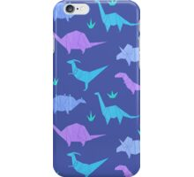 Origami Dinosaurs iPhone Case/Skin