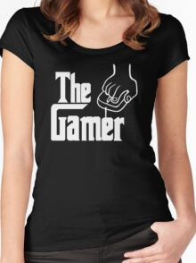 The Gamer Godfather T Shirt Women's Fitted Scoop T-Shirt
