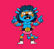 Wrestler Monster Womens Fitted T-Shirt