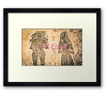 IS IT LOVE? Framed Print