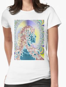 PSYCHEDELIC NEW ROMANTIC Womens Fitted T-Shirt