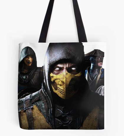 Mortal Kombat X Tote Bag