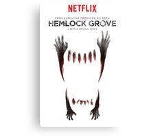 Hemlock grove affiche saison 2 Canvas Print