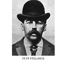 H.H Holmes Americas First Serial Killer Photographic Print