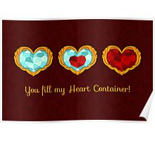 HEART CONTAINER Poster
