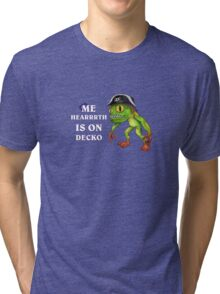 Hearthdecko Murloc Pirate Tri-blend T-Shirt