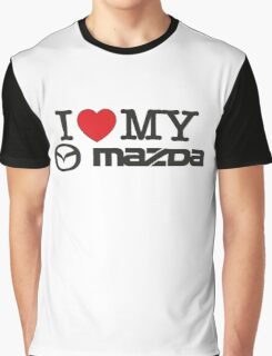 I love my MAZDA JDM japan car lover Graphic T-Shirt