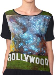 Hollywood 2 - Home Of The Stars By Sharon Cummings Chiffon Top