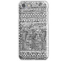 Warriors of Babylon - Black iPhone Case/Skin