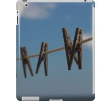 Clothespin Sky  iPad Case/Skin