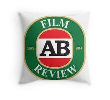 AB Film Review Logo 2 Throw Pillow