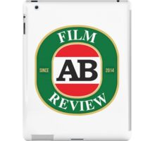 AB Film Review Logo 2 iPad Case/Skin