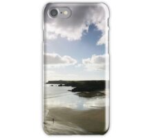 High Key Cloudshade- Broad Haven,Pembrokeshire iPhone Case/Skin