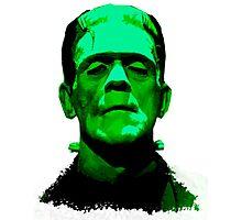 Frankenstein Monster Artwork Photographic Print