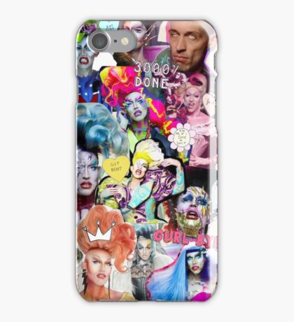 Acid Betty collage iPhone Case/Skin