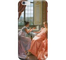 VITTORIO REGGIANINI ITALIAN  AN AMUSING LETTER iPhone Case/Skin