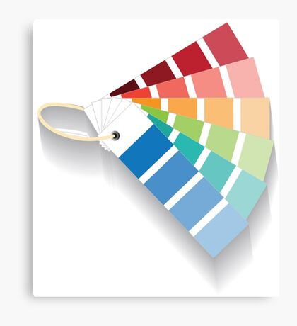 PANTONE Color Canvas Print