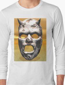 MASK OF STONE Long Sleeve T-Shirt