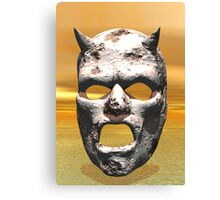 MASK OF STONE Canvas Print