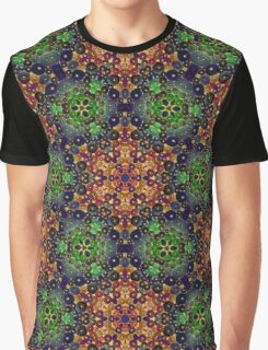 Green Earth Pattern Graphic T-Shirt