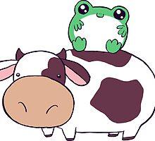 Frog Cow by SaradaBoru