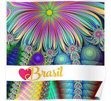 Fractory: God Bless Brasilian Nights - Hello Rio - Love Brasil Poster