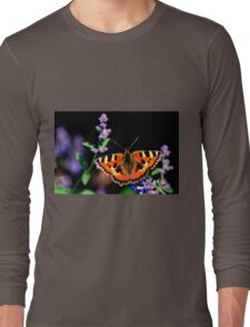 small tortoiseshell butterfly Long Sleeve T-Shirt