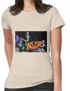 small tortoiseshell butterfly Womens Fitted T-Shirt