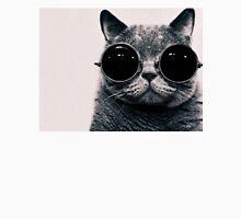cat w glasses Unisex T-Shirt