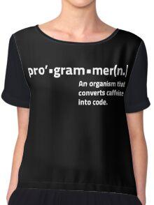 Programmer Definition Chiffon Top