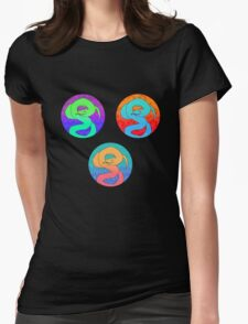 Hiss Hiss Womens Fitted T-Shirt