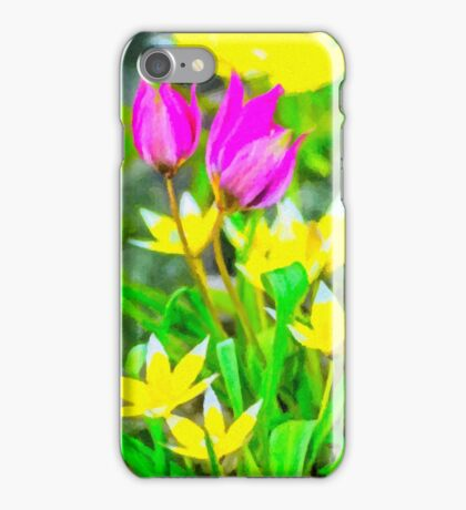 May tulips iPhone Case/Skin