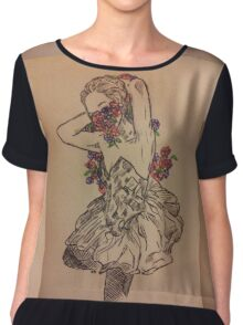 Vegas Girl Chiffon Top