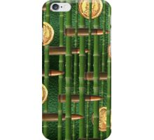 Green Bamboo Bullet Coins iPhone Case/Skin