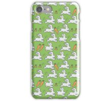 Rabbits and Carrot iPhone Case/Skin