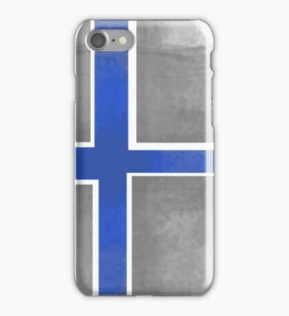 Finland Beer Flag iPhone Case/Skin