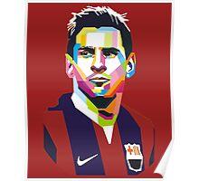 Lionel Messi | PolygonART Poster