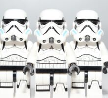 Storm Trooper Line up Sticker
