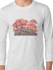 Mushroom Forest Long Sleeve T-Shirt
