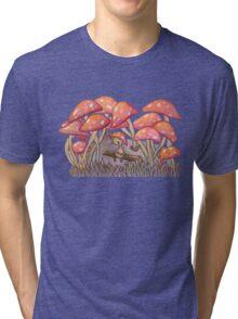 Mushroom Forest Tri-blend T-Shirt